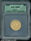 Additional Certified Coins: , 1849 $5