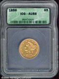 Additional Certified Coins: , 1856 $5