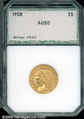 Additional Certified Coins: , 1908 $5 INDIAN