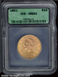 Additional Certified Coins: , 1901 $10