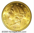 Additional Certified Coins: , 1890-CC $20