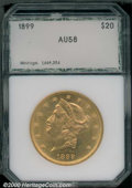Additional Certified Coins: , 1899 $20