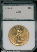 Additional Certified Coins: , 1914-S $20