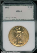 Additional Certified Coins: , 1915 $20