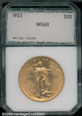 Additional Certified Coins: , 1923 $20