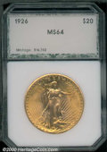 Additional Certified Coins: , 1926 $20