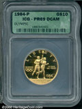 Additional Certified Coins: , OLYMPIC G$10 1984-P