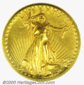Proof Saint-Gaudens Double Eagles: , 1907 $20 HighRelief