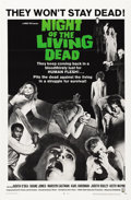"Movie Posters:Horror, Night of the Living Dead (Continental, 1968). One Sheet (27"" X41"")...."
