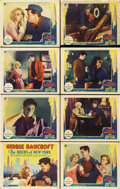 "Movie Posters:Drama, The Docks of New York (Paramount, 1928). Lobby Card Set of 8 (11"" X14"").... (Total: 8 Items)"
