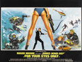 "Movie Posters:James Bond, For Your Eyes Only (United Artists, 1981). British Quad (30"" X40"")...."