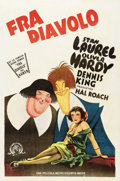 """Movie Posters:Comedy, The Devil's Brother (MGM, 1933). Spanish Language One Sheet (27"""" X41"""")...."""