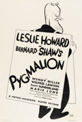 "Movie Posters:Drama, Pygmalion (MGM, 1938). One Sheet (27"" X 41"")...."