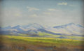 Texas:Early Texas Art - Impressionists, HALE BOLTON (1879-1920). California, between 1915-1920.Pastel. 4 1/2in. x 7in.. Unsigned. Titled verso. Hale Bolton w...