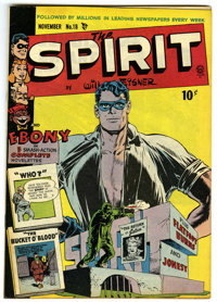 "The Spirit #18 Davis Crippen (""D"" Copy) pedigree (Quality, 1949) Condition: VF+"