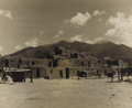 Texas:Early Texas Art - Drawings & Prints, A. L. DEGROODT (1910-1980). Taos Pueblo. Silver gelatinphoto. 14in. x 17in.. Unsigned. Provenance:. Estate of A. L. D...