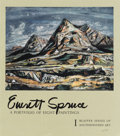 Texas:Early Texas Art - Drawings & Prints, EVERETT SPRUCE (1908-2002). A Portfolio of Painting. Book.19in. x 17in.. From the Blaffer Series of Southwestern Ar...