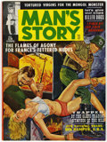 Magazines:Adventure, Man's Story V4#2 (Reese Publishing, 1963) Condition: VF....
