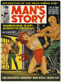 Magazines:Vintage, Man's Story V4#4 (Reese Publishing, 1963) Condition: VF....