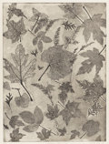 Texas:Early Texas Art - Drawings & Prints, CLINTON KING (1901-1979). Autumn Leaves #2, 1974.Lithograph. 24in. x 18in.. Signed and dated lower right.Provenance:...