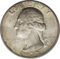 Washington Quarters: , 1932-D 25C MS63 PCGS. In the case of the 1932-D quarter, the lowmintage actually did translate to low availability. Undoub...