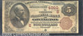 National Bank Notes:Kentucky, Citizens National Bank of Covington, KY, Charter #4260. 1882 $5...