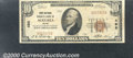 National Bank Notes:Maine, First National Bank of Augusta, ME, Charter #498. 1929 $10 Type...