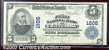 National Bank Notes:Tennessee, First National Bank of Chattanooga, TN, Charter #1606. 1902 $5 ...