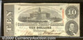 Confederate Notes:1863 Issues, 1863 $10 State Capitol at Columbia, SC; R.M.T. Hunter, T-59, Ch...