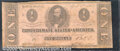 Confederate Notes:1863 Issues, 1863 $1 Clement C. Clay, T-62, VG. Heavily worn, mildly soiled,...