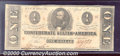 Confederate Notes:1863 Issues, 1863 $1 Clement C. Clay, T-62, XF. An attractive example that i...