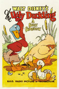 "Movie Posters:Animated, The Ugly Duckling (RKO, 1939). One Sheet (27"" X 41"")...."