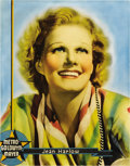 "Movie Posters:Miscellaneous, Jean Harlow Personality Portrait (MGM, 1936). Half Sheet (27"" X22"")...."