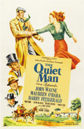 "Movie Posters:Drama, The Quiet Man (Republic, 1952). One Sheet (27"" X 41"")...."