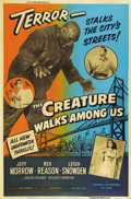 "Movie Posters:Science Fiction, The Creature Walks Among Us (Universal International, 1956). Poster(40"" X 60"")...."