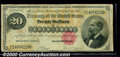 Large Size Gold Certificates:Large Size, 1882 $20 Gold Certificate, Fr-1178, Fine. A pleasing, problem-f...