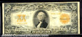 Large Size Gold Certificates:Large Size, 1922 $20 Gold Certificate, Fr-1187*, VF, Star Note. A nice exam...