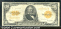 Large Size Gold Certificates:Large Size, 1922 $50 Gold Certificate, Fr-1200, Fine-VF. A problem-free exa...