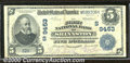 National Bank Notes:West Virginia, First National Bank of Shinnston, WV, Charter #9453. 1902 $5 Th...