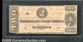 Confederate Notes:1862 Issues, 1862 $2 Judah P. Benjamin, T-54, VG. Cr-396. A pleasing low gra...