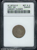 Early Dimes: , 1803 10C