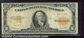 Large Size Gold Certificates:Large Size, 1922 $10 Gold Certificate (Small Serial Numbers), Fr-1173a, VG-...