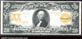Large Size Gold Certificates:Large Size, 1906 $20 Gold Certificate, Fr-1186, VF. This note has been pres...