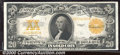 Large Size Gold Certificates:Large Size, 1922 $20 Gold Certificate, Fr-1187, VF. A crisp, attractive exa...