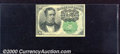 Fractional Currency: , 1874-1876, 10c Fifth Issue, Meredith, Fr-1264, CU. The right fa...