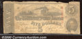 Confederate Notes:1863 Issues, 1863 $10 State Capitol at Columbia, SC; R.M.T. Hunter, T-59, Go...