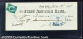 Miscellaneous:Checks, A check from the First National Bank of Lake City, Colorado, XF...