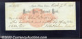 Miscellaneous:Checks, A check drawn on the Mystic River National Bank, Mystic River, ...
