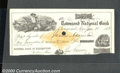 Miscellaneous:Checks, Dated January 11, 1883, this AU check transferred $297.62 from ...