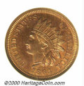 1864 1C Bronze PR 66 Red and Brown NGC. Mint records indicate that 370 proof sets were issued in 1864. According to Bree...